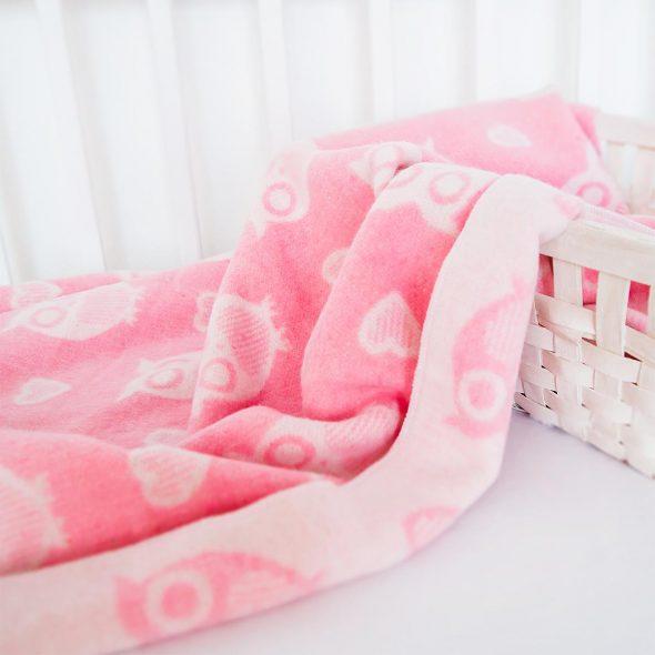 Нежное и мягкое байковое одеяло