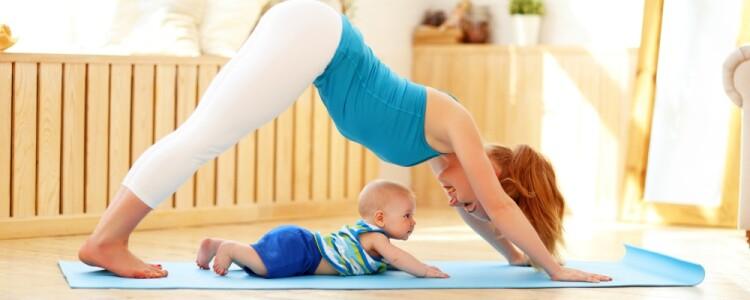 Йога после родов: когда можно приступать к восстановлению, разрешенные упражнения дома