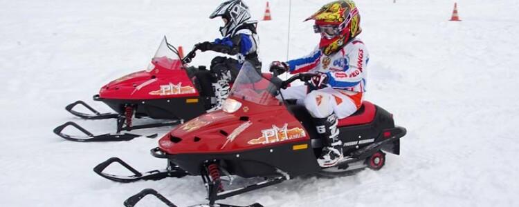 Детский снегоход на бензине или на аккумуляторе