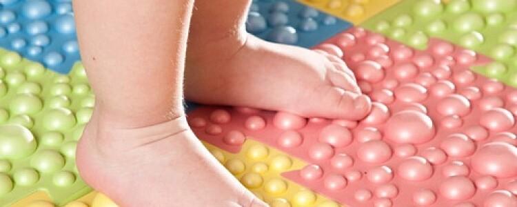 Коврик от плоскостопия: как выбрать или изготовить