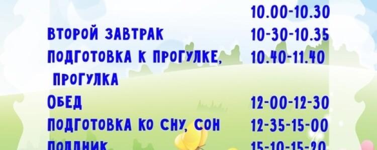 Примерные режимы дня в детском саду и дома для дошкольника