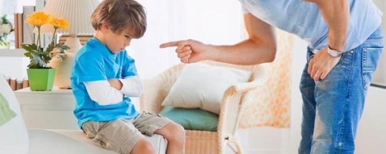 Как наказать ребенка за плохое поведение и непослушание: как правильно и можно ли наказывать ребенка в год
