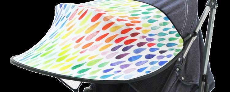 Козырек на коляску от солнца: универсальная солнцезащитная конструкция, дополнительный вариант, как снимается удлинитель
