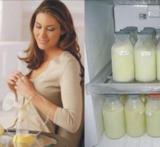 Как заморозить грудное молоко