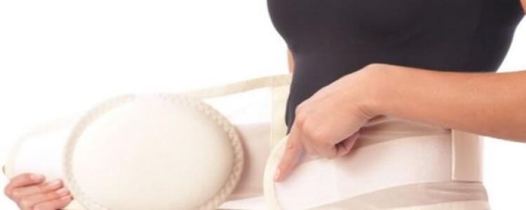 Бандаж после родов: виды, как надевать, сколько носить