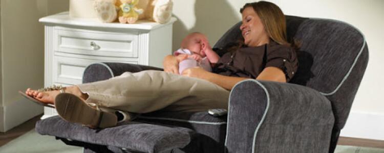 Кресла для кормления ребенка для мамы — виды моделей