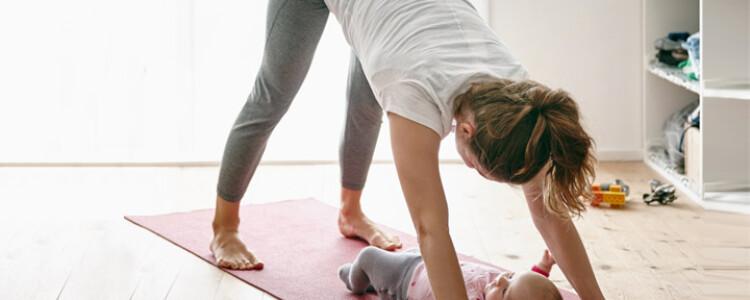 Когда можно качать пресс после родов кормящей маме?