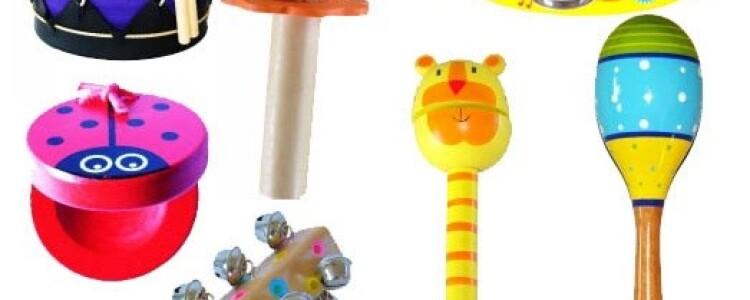 Музыкальные игрушки: обучаем малышей