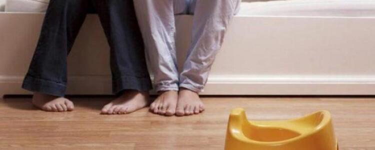 Как приучить ребенка ночью вставать на горшок — советы родителям