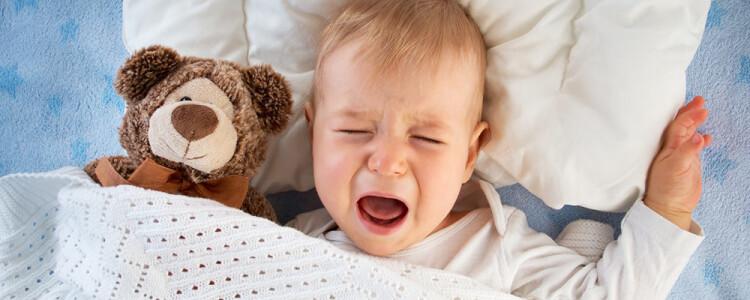 Ребенок часто просыпается ночью