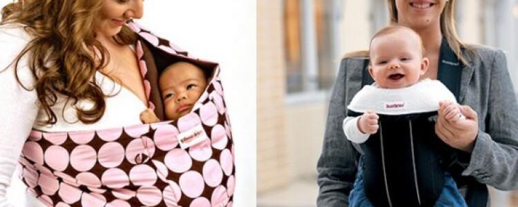 Как правильно выбрать слинг для новорожденного