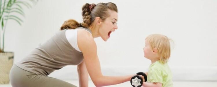 Когда после родов можно заниматься спортом кормящей маме?