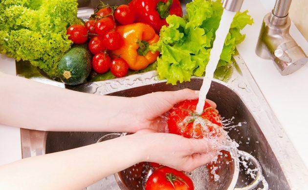 моем руки и продукты питания