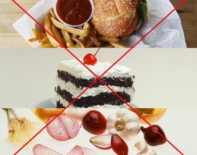 Что нельзя есть при ГВ на Новый год