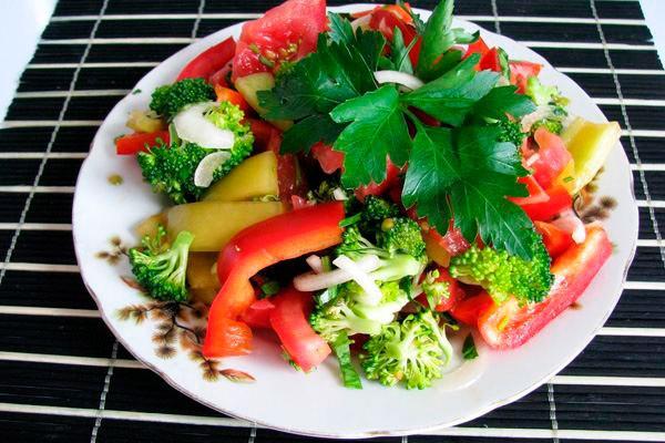 Салат из овощей