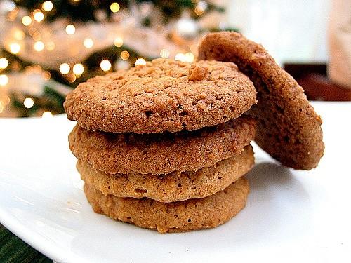Овсяно-фруктовое печенье