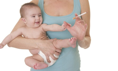 Влияние никотина на грудное молоко