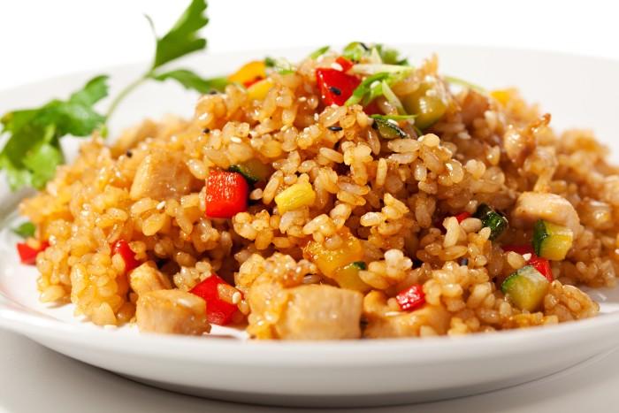 индейка с рисом при гв