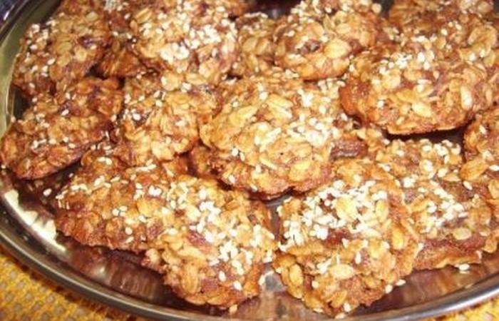 Овсяное печенье с добавлением творога
