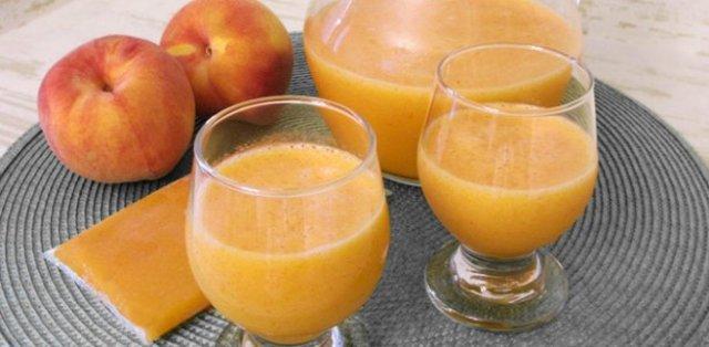 персиковый сок при гв