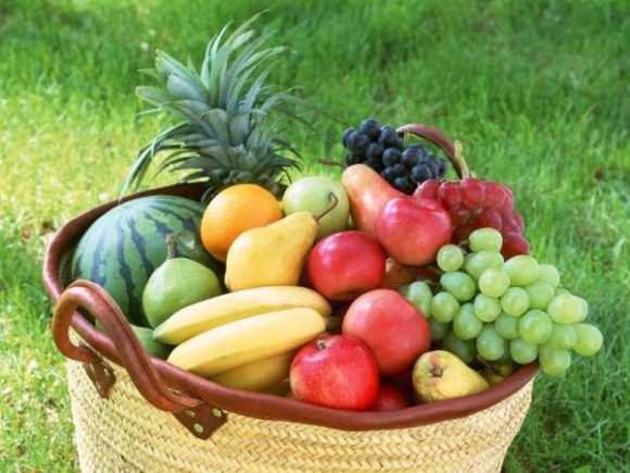 сезонные фрукты