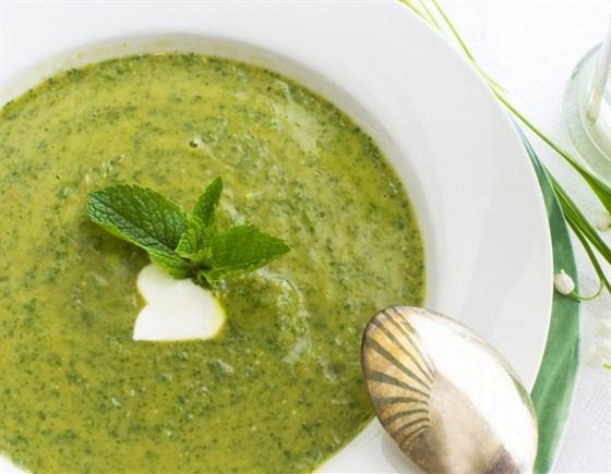 Крем-суп из стручковой фасоли