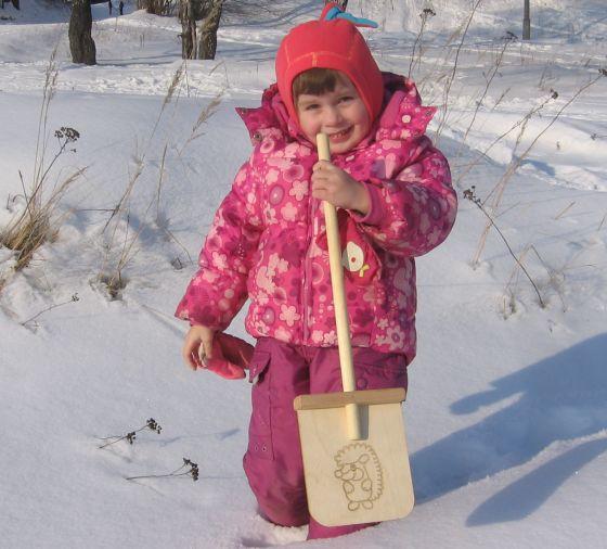 детская лопатка для снега