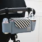 Подстаканник и органайзер для детской коляски