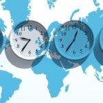 Смена часовых поясов