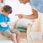 Как наказать ребенка за плохое поведение и непослушание
