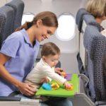 Как пережить перелет с годовалым ребенком?